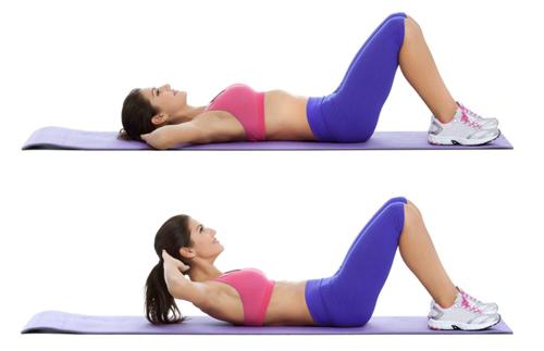 Схема тренировок в домашних условиях на неделю для похудения для девушек