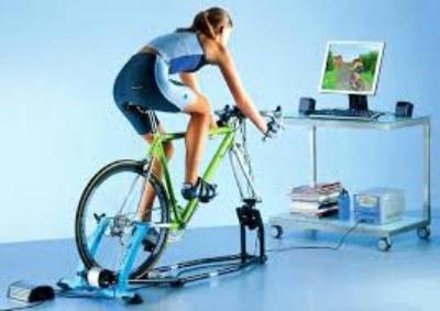 домашний велотренажер для тренировки