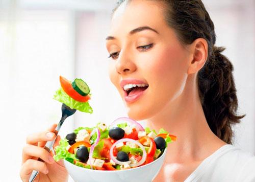 основные принципы правильного питания для девушек