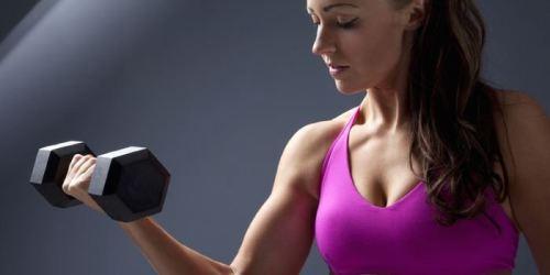 эффективные упражнения для спины с гантелями для женщин