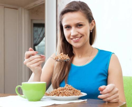 диета с гречкой и кефиром