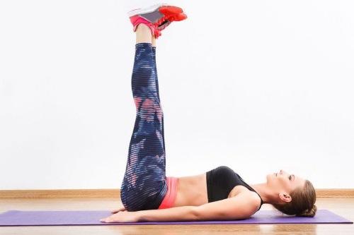действенные упражнения для плоского живота