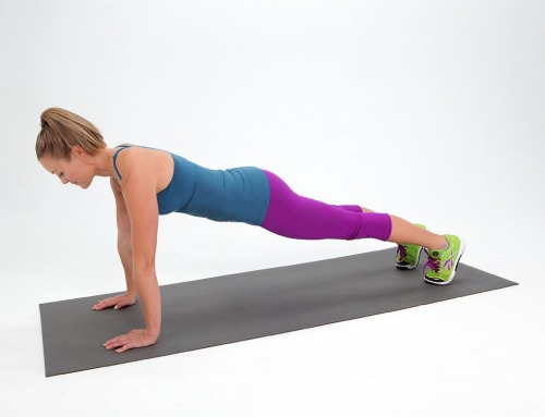 топ-5 упражнений для плоского живота