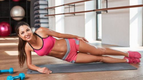 статические упражнения девушкам
