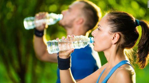 как пить воду после тренировки