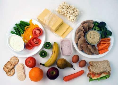 перекусы для здорового питания