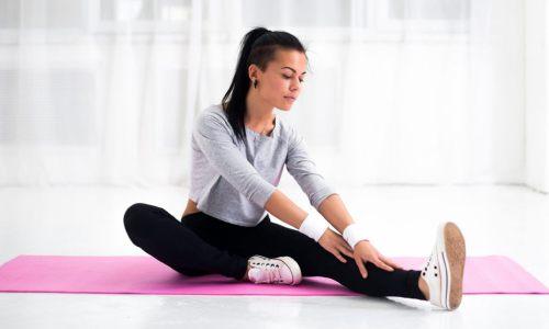 растягивать мышцы после тренировки