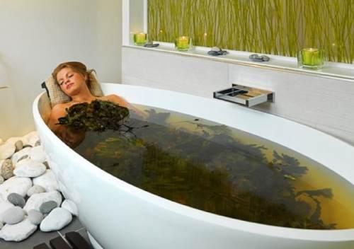 ванны дома для похудения