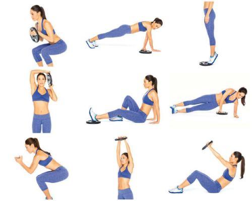 круговая тренировка для всех мышц