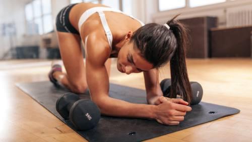 круговая тренировка для всех мышц дома