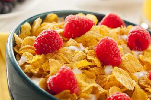 польза от кукурузных хлопьев без сахара
