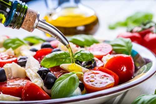 средиземноморская диета меню для похудения