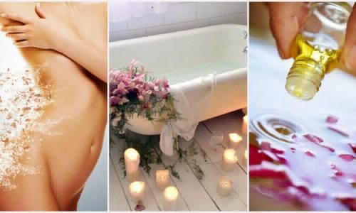 масла для ванн чтобы похудеть
