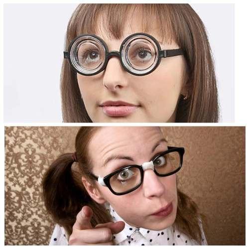недостатки женщин очки