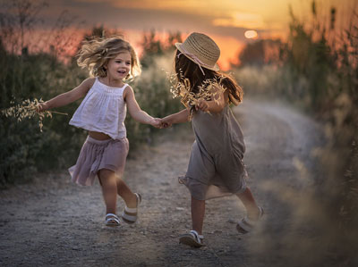 дети дружат