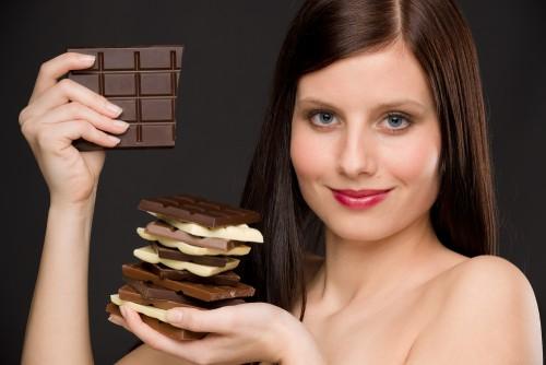 горький шоколад и похудение