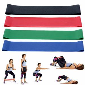 Упражнения для средней ягодичной мышцы с резинками