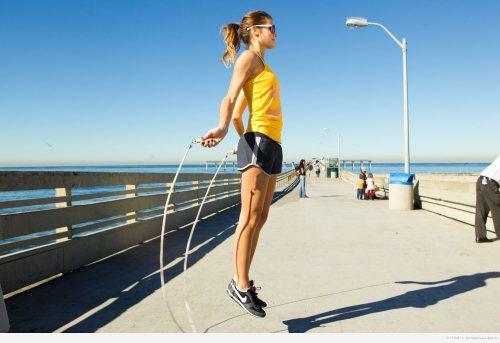 мышцы работают при прыжках