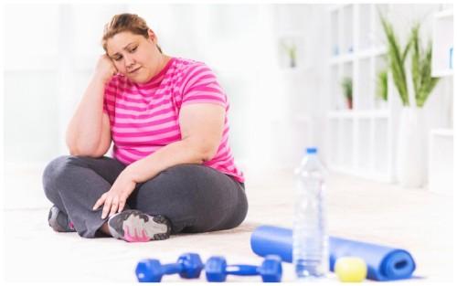 причины почему вес не уходит