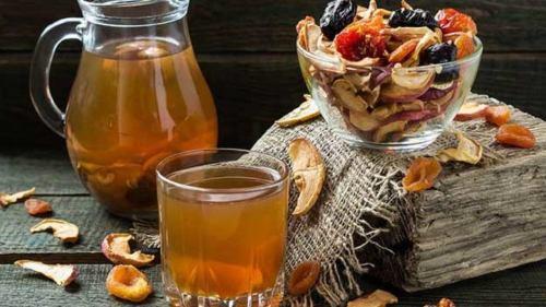вкусные и полезные напитки взвары
