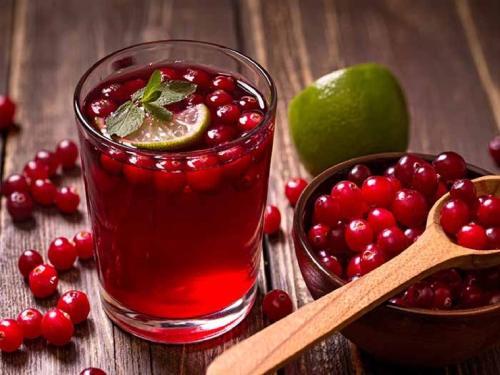 вкусные и полезные напитки морсы