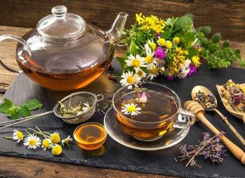 вкусные и полезные напитки чаи