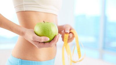 Чистка организма для похудения в домашних условиях яблоками