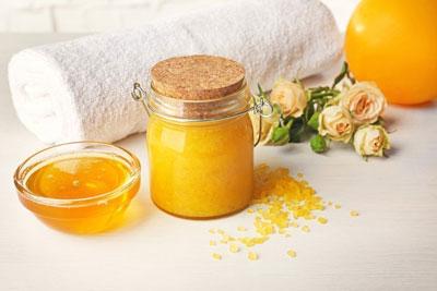 рецепт медового скраба в домашних условиях