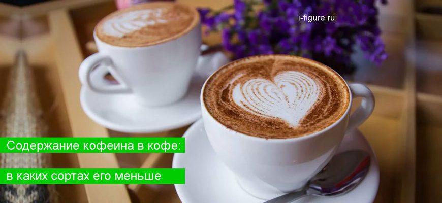 кофе с большим содержанием кофеина