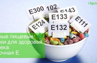 самые опасные пищевые добавки