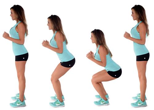 упругие бедра и ягодицы упражнения