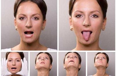 упражнения чтобы убрать щеки и второй подбородок