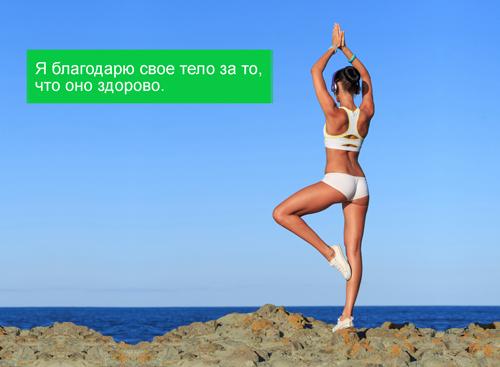 как дать себе установку на похудение