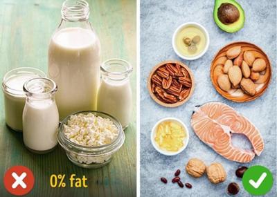 мифы о жирной еде