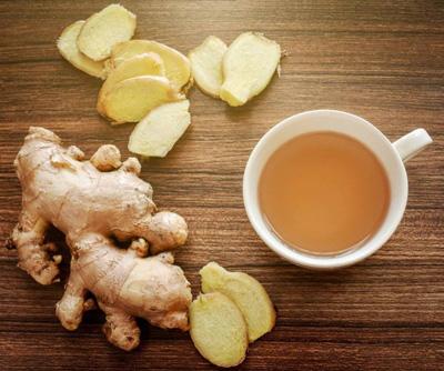 рецепт имбирного чая без добавок