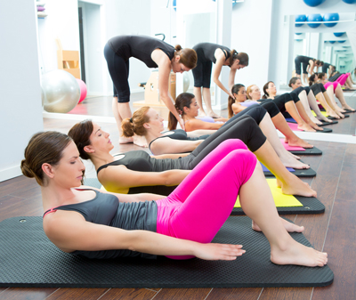 фитнес тренировка пилатес