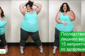 Последствия лишнего веса