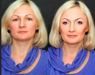 макияж что бы выглядеть моложе