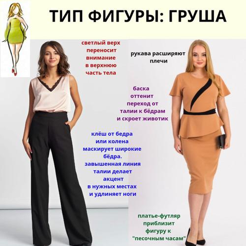 тип фигуры: груша, как похудеть с помощью диеты