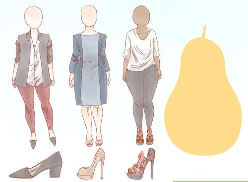 что носить с типом фигуры груша 1