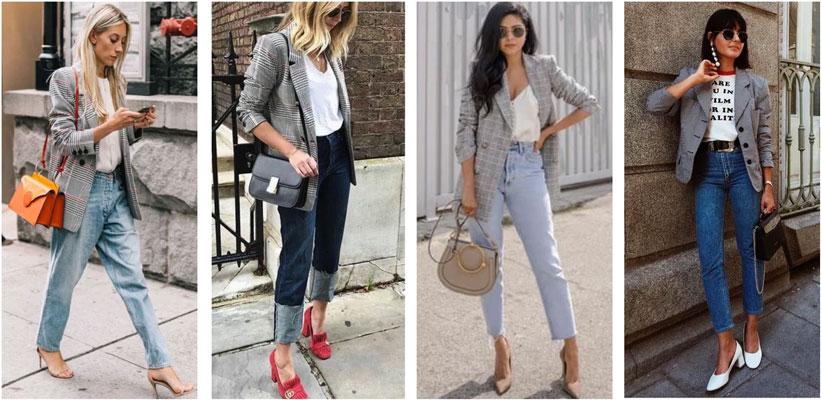 Как маме одеться 1 сентября джинсы 2