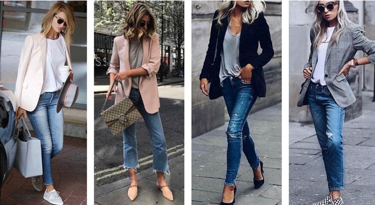 Как маме одеться 1 сентября джинсы 3