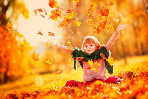 Короткие и красивые стихи про осень для детей