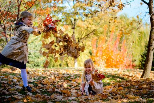 Короткие и красивые стихи про осень для детей 4-5 лет