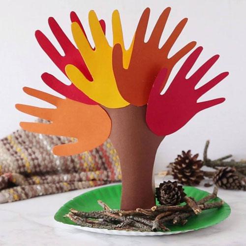 Поделки на тему «Осень» своими руками из бумаги