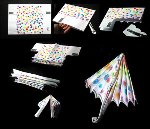 Поделки на тему «Осень» своими руками зонтик