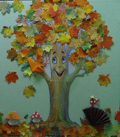 детские поделки +своими руками тема осень