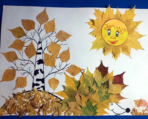 Поделки на тему Осень своими руками из природного материала