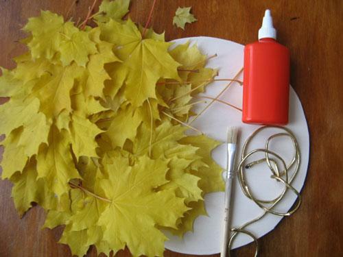 Поделки на тему Осень своими руками из природного материала в сад
