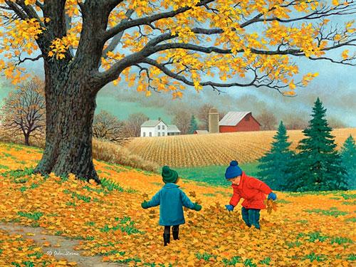 Загадки про сентябрь для детей 5-7 лет